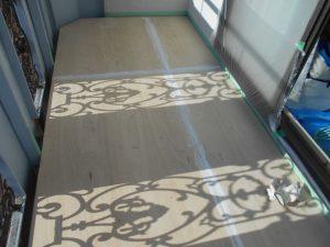 奈良県橿原市N様 雨漏り修理 ベランダ下地作り
