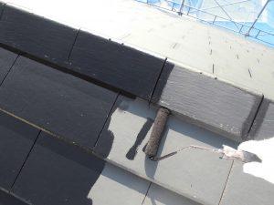 奈良県橿原市H様 屋根下塗り塗装(1回目)1