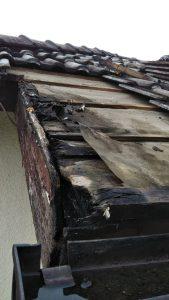名張市 屋根瓦雨漏り調査4