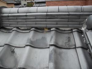 【屋根修理・雨漏り修理】奈良県橿原市O様邸 漆喰塗り替え工事の詳細です。