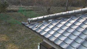 奈良県橿原市 雨漏り防止に屋根瓦の漆喰の修理工事