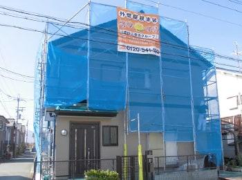 通常屋根の修理や雨樋の交換は足場が必要