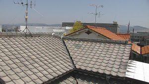 橿原市 2階の天井からポタポタ雨漏り音がするため調査