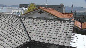 奈良県橿原市 屋根瓦の点検2