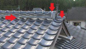 奈良県宇陀市A様屋根瓦と外壁の点検と見積もり