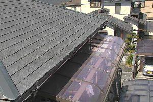 名張市 安くて10年持つシリコン塗料で屋根塗り替え