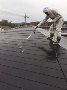 三重県伊賀市屋根塗装リフォーム工事