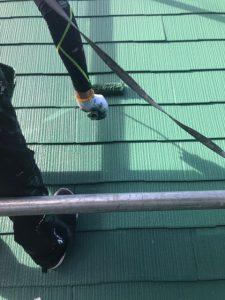 奈良県宇陀市 汚れに強いシリコン塗料で屋根塗り替え