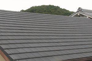 橿原市 地震や台風に強い軽量瓦ルーガを屋根にリフォーム