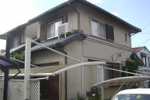【外壁塗装工事】三重県名張市H様 外壁塗装工事