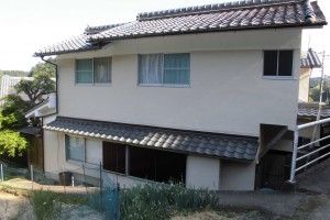 【外壁塗装】奈良県桜井市S様邸 外壁塗り替え工事と雨樋交換工事