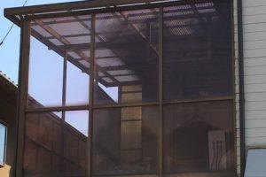 【ベランダ屋根交換工事】奈良県吉野郡N様邸 波板張り替え工事