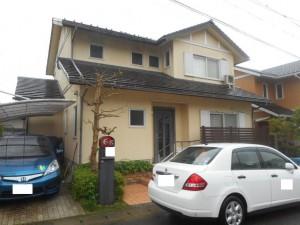 【外壁塗装・外壁修理】奈良県宇陀市A様邸 外壁塗り替え工事が始まりました!足場の組み立てと洗浄です。