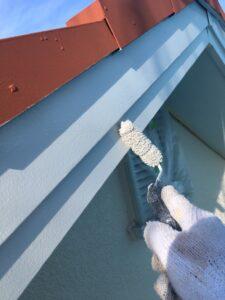 奈良県宇陀市 破風板板金2塗装