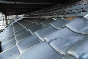 【雨漏り修理・屋根修理・屋根漆喰塗り替え】奈良県橿原市M様邸 屋根漆喰塗り替え工事