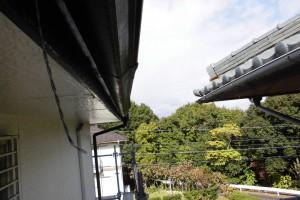 【雨樋修理・雨樋交換】三重県名張市S様邸 火災保険で雨樋の交換工事をしました。