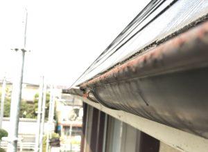 奈良県橿原市 築30年超のミサワの2階の雨樋交換工事
