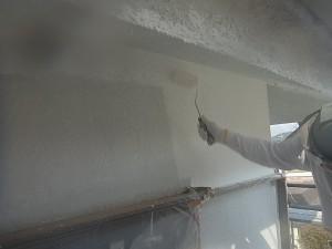 【外壁塗装・外壁修理】奈良県桜井市T様邸 外壁塗り替え下塗り塗装・中塗り塗装・上塗り塗装