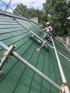 奈良県宇陀市H様屋根塗装リフォーム工事