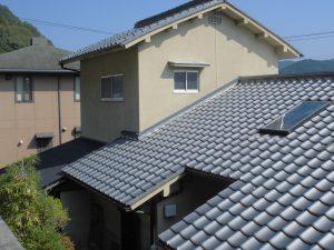 奈良県吉野郡K様 屋根調査・雨漏り調査2