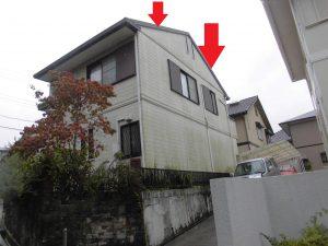 三重県名張市 屋根外壁調査3