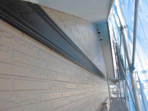 橿原市 雨樋と幕板(モール)と軒裏天井を塗装