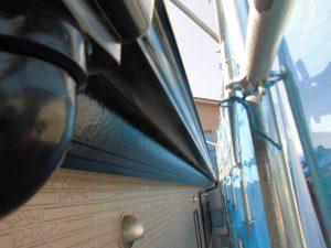 奈良県橿原市 雨樋塗装2