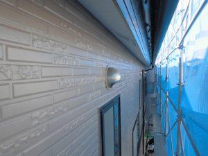 奈良県橿原市H様 サイディング壁にクリーンマイルドシリコンを塗装3