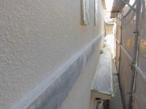奈良県橿原市 モルタル外壁に下塗り5