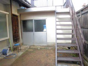 奈良県橿原市K様 外壁塗装後、外部階段塗装後