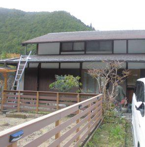 奈良県吉野郡 雨漏り調査1