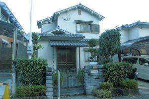 奈良県宇陀市 遮熱塗料ガイナをモルタル外壁塗装