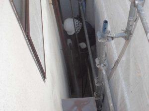 奈良県宇陀市U様 外壁塗装 高圧洗浄1