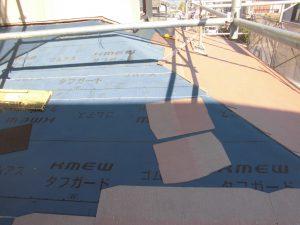 名張市O様1階屋根工事