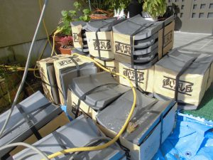 奈良県吉野郡K様 屋根修理 いぶし瓦
