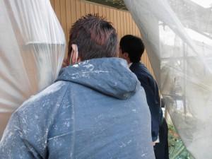 【奈良県吉野郡】外壁塗装|断熱遮熱塗料ガイナ代理店にアドバイスを受けてガイナで塗り替え