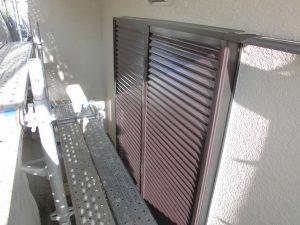 三重県名張市K様雨戸塗装