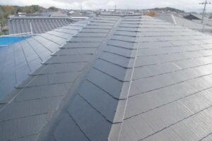 【三重県伊賀市】屋根塗装|塗るだけで夏は涼しい遮熱、冬は暖かくなる断熱効果のガイナで塗り替え