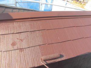 伊賀市 カラーベスト屋根にシリコン塗料で塗装リフォーム