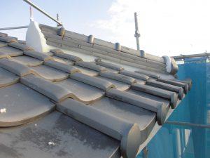 三重県名張市Y様屋根の漆喰塗り替え