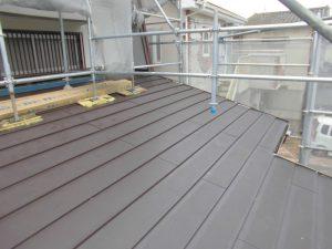 奈良県大和郡山市H様屋根カバー工法リフォーム工事