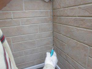 奈良県橿原市 外壁の目地に30年持つコーキング材で修理