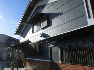 三重県名張市Y様 モルタル外壁塗装完成2