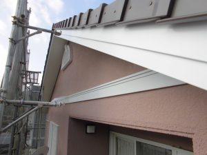 奈良県橿原市 破風板塗装