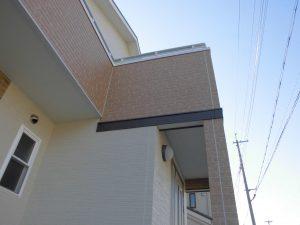 奈良県橿原市  親水パワーコート サイディング壁設置5