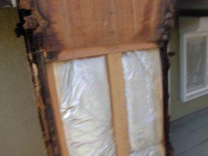 三重県名張市 雨漏りしている煙突を解体5