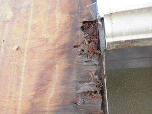 三重県名張市 雨漏りしている煙突を解体6