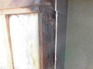 三重県名張市 雨漏りしている煙突を解体7