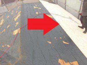 三重県名張市 屋根の下地張り工事2