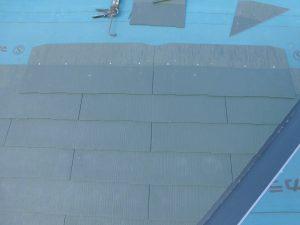 三重県名張市O様 スレート屋根を葺く6